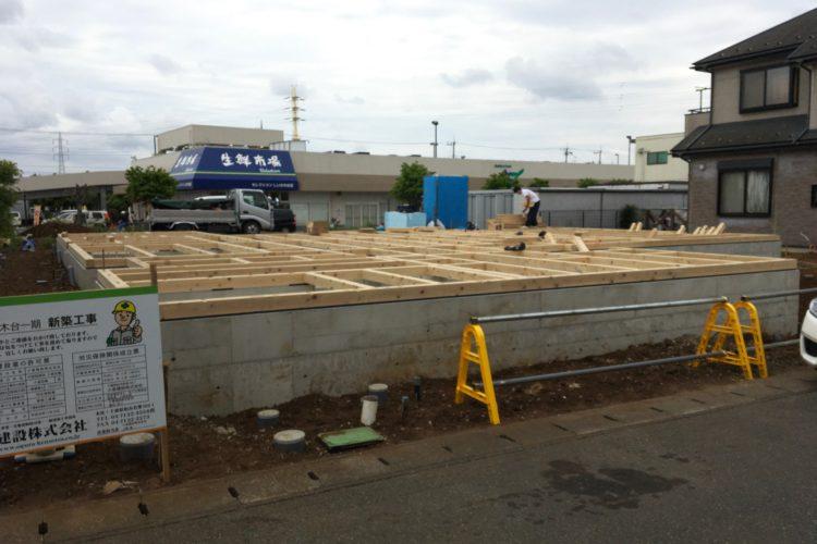 新グループホームナウルの基礎工事が完了しました。