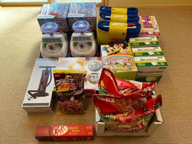 Costco 千葉ニュータウン倉庫店からご寄付を頂きました!